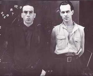 Jacob Kanbier with Jules Deelder in 1987